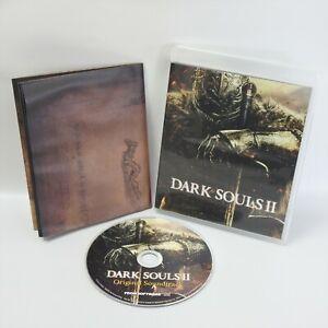 DARK SOULS II 2 Special Map + Original Sound Track Audio CD 1301