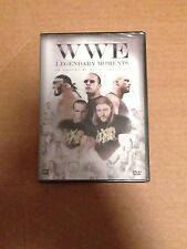 WWE: 2010 LEGENDARY MOMENTS (DVD, 2010, 1-Disc Set,) VHTF