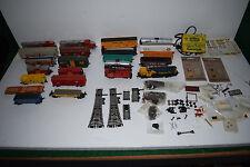 Vintage HO Scale Electric Train Lot - Life Like / Atlas / AHM