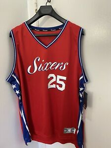 NBA Philadelphia 76ers Ben Simmons Fanatics  Sixers Jersey Red Away Size 2XL