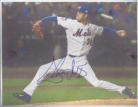 steven matz signed 8x10 autographed photo auto mlb new york mets baseball ws 15