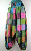 Cotton UNISEX Trousers Hippie Gypsy Alibaba Boho Harem Baggy Yoga Pant Nepal AB2