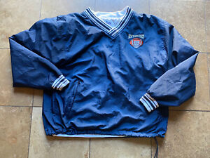 VINTAGE NYPD NEW YORK POLICE DEPARTMENT CHAMPION PULLOVER JACKET MENS LARGE
