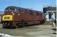 OPC Collectors postcard #81 Diesel Locomotive D821 GREYHOUND Swindon 1979
