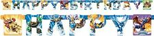 Skylanders Giants 8ft Birthday Jointed Banner 1pc Party Decoration Supplies