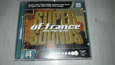 SUPER SOUNDS OF TRANCE #4 Non-Stop DJ-Mix Electronic CD 16 Tracks NEUWERTIG!!!