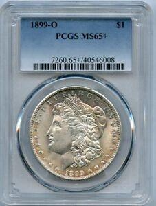 1899-O $1 Morgan Silver Dollar PCGS MS 65+