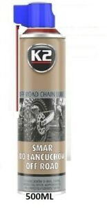 K2 Synthetic Grease Chain Lube Performance Lubricant Bike Bicycle O X Ring 500ml