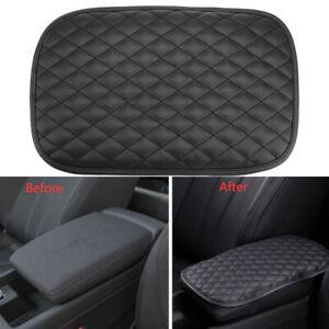 Universal Car Accessories Center Console Armrest Cushion Mat Pad Cover Black