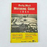 Daily Mail Motoring Guide 1954  Courtenay Edwards - Accessories - Motorsport Etc