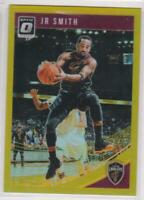 2018-19 JR Smith #/10 Panini Donruss Optic #118 Cleveland Cavaliers Refractor
