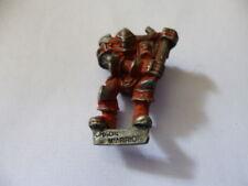 Vintage 1980's  Warhammer Metal Chaos Warrior Figure