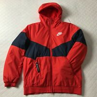 Nike Windbreaker Sportswear Jacket L Men Synthetic Fill Bnwt Red 928861 634 NWT