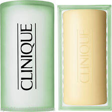 Clinique Mild Travel Size FACIAL SOAP Bar & DISH For Dry/T-Zone Skins 50g