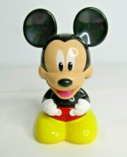 New listing Vintage Disney Mickey Mouse Talking Flashlight Nightlight Toy Hap-P-Kid