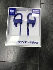 Beats by Dr. Dre Powerbeats 3 Wireless Ear-hook Headphones Break Blue SEALED BOX