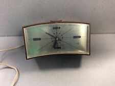 Vintage Bedside Table Alarm Clock GE General Electric Mid Century Lighted Dial