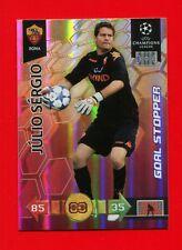 CHAMPIONS LEAGUE 2010-11 Panini 2011 -Card Goal Stopper- JULIO SERGIO - ROMA