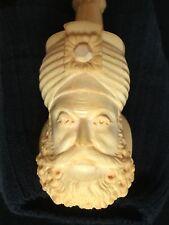 Vintage Sultan Meerschaum Pipe Never Smoked