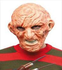 Freddy Krueger Visage Complet Latex Masque Halloween Cauchemar tueur Cosplay adulte
