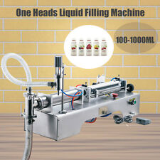 Auto Liquid Filling Machine Filler High Capacity 90-1000ml 40 Bottles/Minute