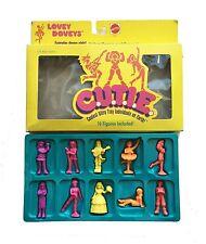 C.U.T.I.E. Vintage 80's Mattel Lovey Doveys Boxed Set Girl Figurines
