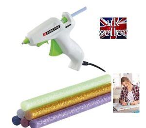 Hot Glue Gun Set PNKP 105 A1 and 6 glitter glue sticks Crafts Parkside