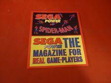 Spider-Man Sega Power Magazine Promotional Sticker