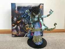 "World of Warcraft LADY VASHJ Deluxe Collector 9"" Action Figure NIB"