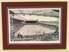 Heart Of Midlothian FC - Tynecastle. Limited Edition Stadium Print - Stuart Herd