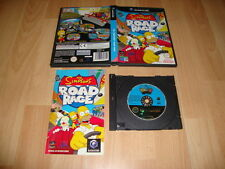 THE SIMPSONS ROAD RAGE DOL-GSPP-ESP PARA LA NINTENDO GAME CUBE USADO COMPLETO