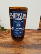 Shipyard Smashed Blueberry Beer Bottle Glass Made From Upcycled Beer Bottle