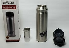 Stainless Steel Drink Bottle with Tea Infuser 16oz Flying Tea Gourd