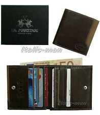 Portafoglio-Wallet uomo LA MARTINA - mod. 513.002 - marrone
