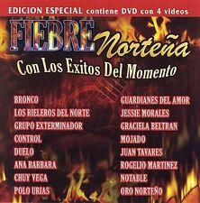 NEW Fiebre Nortena: Con Los Exitos Del Momento (Audio CD)
