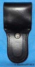Vintage AKAH German Police Duty Black Swivel Leather Holster 4/88 Vintage