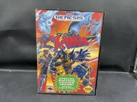 SEGA GENESIS COMPLETE GAME X-MEN (NO POSTER)
