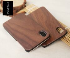 Real Natural Wooden Wood Phone Case Cover For Apple iPhone X XR XS Max Plus 8 7