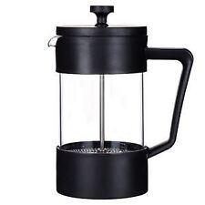 Grunwerg Cafe Ole Studio Black 0.6L Cafetiere Coffee Drink Maker Press Glass