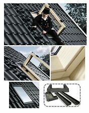 VELUX Ausstiegsfenster VELUX GXL 3070 FK06 66x118 aus Holz incl. EDZ Thermo