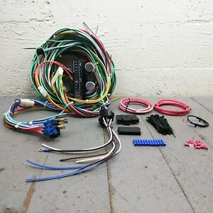 1957 - 58 Ford Fairlane and Fairlane 500 Wire Harness Upgrade Kit fits painless
