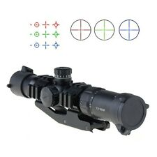 1.5-4X30 Tactical Rifle Scope w/ Tri-Illuminated Chevron Recticle & PEPR Mount