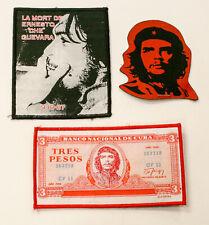 Razamatz Che Guevara 3 patch set Sew On Patch NOS New Old Stock