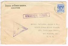 Malaya STRAITS SETTLEMENTS-SG#285(single frank)-SINGAPORE 20/NO/1940-WWII