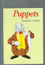 Puppetry - Puppets by Barbara Snook - 1985 edition
