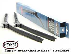 SCANIA 4 series 124 FLAT commercial windscreen WIPER BLADES 28''28'' SET OF 2