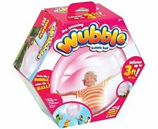 New The Amazing Wubble Bubble Ball - No Pump- Toy Squishy Bounce Fun- Pink