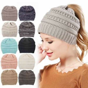 Winter Warm Cap Running Beanie Hat for Adults Women Men Elastic Size Universal