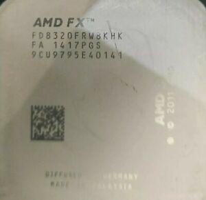 AMD FX-8320 3.5GHz Socket AM3+ 16MB cache 125 Watt  LEGGERE LA DESCRIZIONE