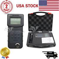 SSEYL UM6500 Handheld Digital Ultrasonic Thickness Gauge Tester Meter RISEPRO US